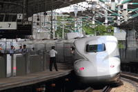 熱い駅 - 新幹線の写真