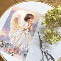 【趣味の刺繍】お久しぶりのHAED。 - 浜松の刺繍教室 l'Atelier de foyu の 日々