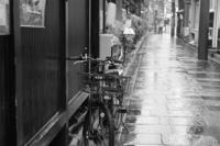 路地の自転車 - kisaragi