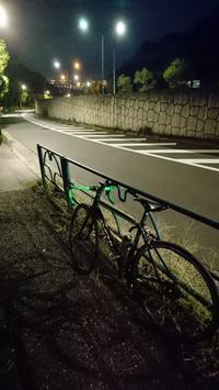 台風前の多摩川CRライド - 仮想行