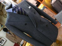 フランネルのWスーツ・・・HARRISONS OF EDINBURGH - 倉敷オーダーセレクトショップ デボー