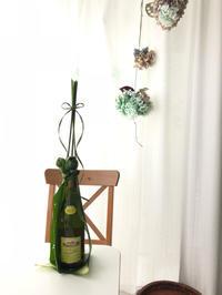 ワイヤーをラッピング☆ - **おやつのお花*   きれい 可愛い いとおしいをデザインしましょう♪