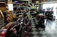 1976FXE1200分解作業 - Vintage motorcycle study
