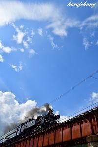 鉄橋二景~自由と籠の鳥~ - 蒸気をおいかけて・・・少年のように