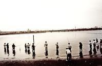 <釣りの心>1990年港区 - 藤居正明の東京漫歩景