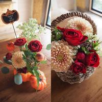 ハロウィンイベントレッスンのお知らせ - 「花」と「自分」を楽しむ花教室*  fleur Nature-フルール ナチュール-