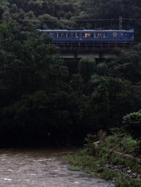 台風24号接近 - 今日も丹後鉄道