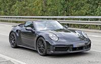 ポルシェ 911 新型に、早くも「ターボカブリオレ」の存在を確認! - Vintage-Watch&Car ♪