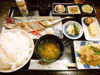 京都市 トロ秋刀魚定食♪ 漬物割烹 ふく井 - 転勤日記