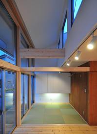 リビングのタタミ敷きコーナー! - 島田博一建築設計室のWEEKLY  PHOTO / 栃木県 建築設計事務所