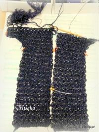 アフガン編みのジャケット⑤ - ルーマニアン・マクラメに魅せられて