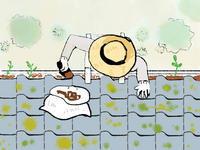 雨樋の掃除 - 古民家再生できるかな