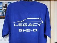 BHレガシィBH5-DのTシャツ作った - 青いそらの下で・・・