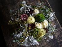 お見舞いのアレンジメント。「白ベース、柔らかい色合いで」。南19条にお届け。2018/09/24。 - 札幌 花屋 meLL flowers