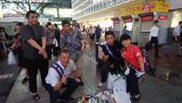 チーム渋谷888(はちみっつ)本日の参加者は6名でした - チーム渋谷888(はちみっつ)8が付く日に渋谷8公でゴミは拾って~♪