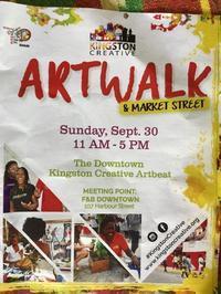 キングストン・クリエイティヴのイベントで、絵の展示します - ジャマイカブログ Ricoのスケッチ・ダイアリ