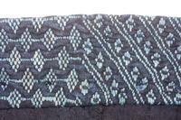 古布木綿庄内紙縒り野良着Japnese Antique Textile Shonai Noragi Koyori-paper - 京都から古布のご紹介