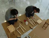 ティアラステージとやまワークショップスツール製作 - KAKI CABINETMAKER