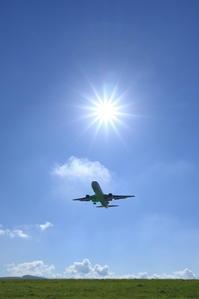 キラキラ太陽~旭川空港~ - 自由な空と雲と気まぐれと ~from 旭川空港~