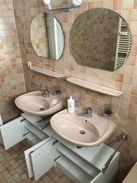 洗面所の気に入らない部分を外す - 築80年のアパート暮らし
