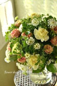 お誕生日に贈る♪花束。 - 花色~あなたの好きなお花屋さんになりたい~