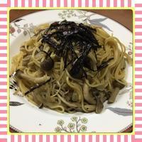 きのこのバター醤油パスタ - kajuの■今日のお料理・簡単レシピ■