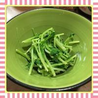 豆苗のマヨポン和え - kajuの■今日のお料理・簡単レシピ■
