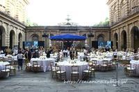 ピッティ宮殿でのイベント - 日本、フィレンツェ生活日記