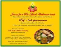 【小さな社会貢献】インド料理ランチ会へのお誘い - ベルギーの小さなおみせ PERIPICCOLI