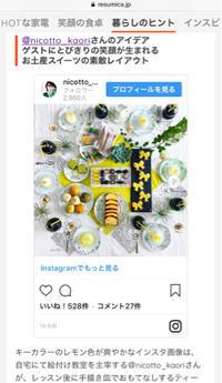 メディア掲載〜ホムパのこだわり - nico☆nicoな暮らし~絵付けと花とおやつ