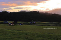 野沢温泉も稲刈り最盛期ぷち空撮付き - 野沢温泉とその周辺いろいろ