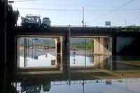 台風24号通過 - 今日も丹後鉄道