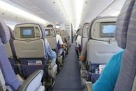 家族で台湾旅行 その2 B747-400に乗って(2) - 南の島の飛行機日記