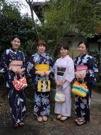 今年最後の浴衣姿のお嬢様たち。 - 京都嵐山 着物レンタル&着付け「遊月」