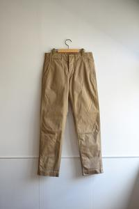WORKERS  |  Officer Trousers Slim Type 2 - Humming room