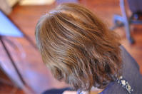 チリチリしてきた細い髪の毛にハナヘナでトリートメントカラー - 観音寺市 美容室 accha