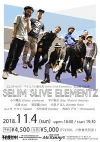 そして名古屋は次の日曜日! - Selim Slive Elementz Official Blog It's about that time