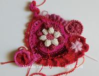 取り残された形a small scrumble - 糸始末な日々         Thread&Yarn Handing Days