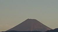 10月2日、今朝の富士山です。 -   心満たされる生活
