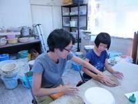 陶芸体験教室 - サンカクバシ 土と私の日記