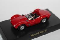 1/64 Kyosho MASERATI Tipo 61 - 1/87 SCHUCO & 1/64 KYOSHO ミニカーコレクション byまさーる