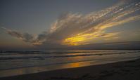 今日の湘南海岸の夕景 - エーデルワイスPhoto