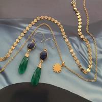 目を引くグリーンカラー - Fmizushina Accessories 日々のアクセサリーダイアリー