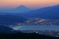 絶景!高ボッチ高原から諏訪湖富士♪ - 『私のデジタル写真眼』