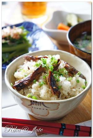 生姜香る秋刀魚の蒲焼混ぜごはん - Rika@_flute Cooking♪