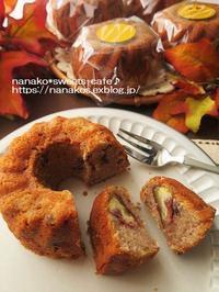 渋皮煮のマロンケーキ - nanako*sweets-cafe♪
