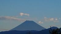 10月3日、今朝の富士山です。 -   心満たされる生活