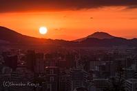 下り坂 - 撃沈風景写真