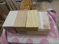 この間にインテリア小物の補充 - 手作り家具工房の記録