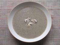 <イギリス料理・レシピ> マッシュルームのスープ【Mushroom Soup】 - イギリスの食、イギリスの料理&菓子